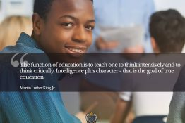 Intelligence plus Character - Motivational Quotes for Students