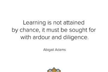 Ardour and Diligence